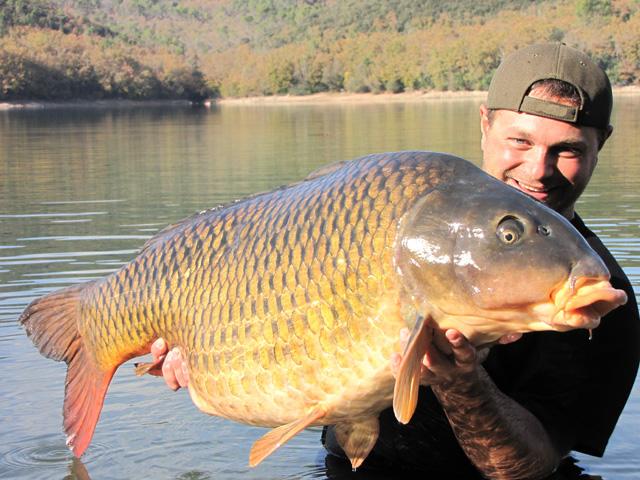 25,5kg year2010 Cassien Lake