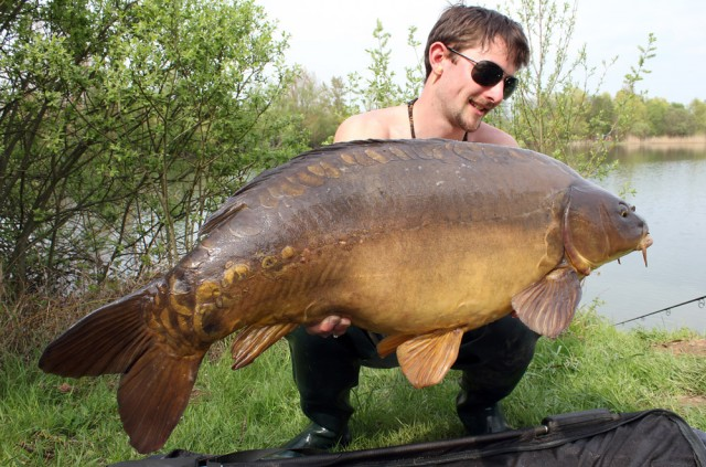 Big springtime review by julian jurkewitz imperial for Can you eat carp fish