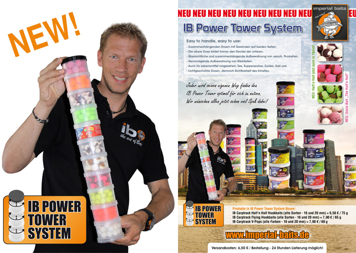 Power tower boxes