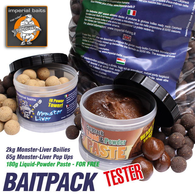 Angebot monster liver baitpack