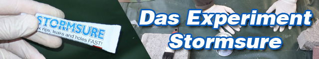 Banner das experiment stormsure