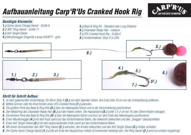 Cranked Hook Rig Beschreibung 1500