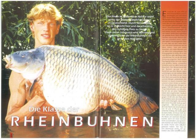 Karpfenscene Heft 5 1995 Seite 1-2