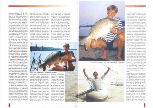 Karpfenscene Heft 5 1995 Seite 3-4