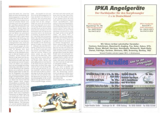 Karpfenscene Heft 5 1995 Seite 6
