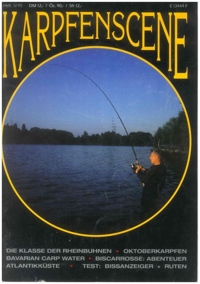 Titelseite Karpfenscene Heft 5 1995