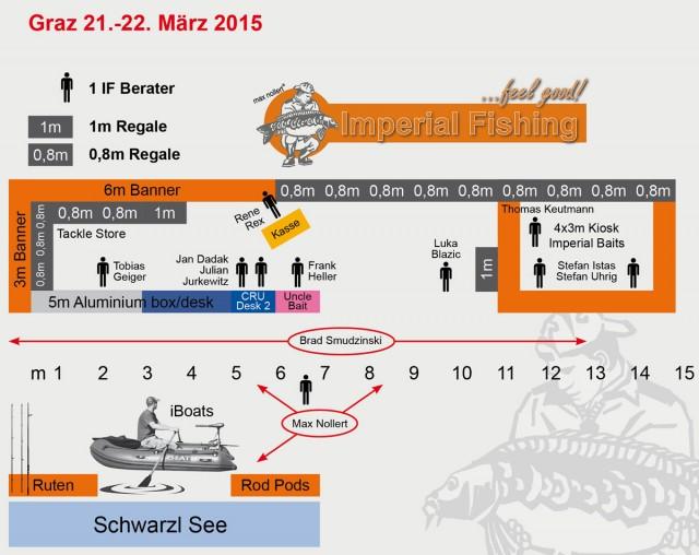 Messestand Aufbau Graz 2015 1200