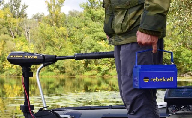 Rebel Cell LiOn Akku Batterie für Fischer - Die Kraft am Wasser