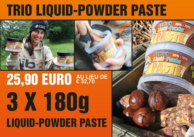 liquid powder paste