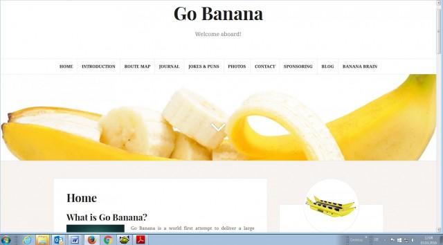 Go Banana New Page
