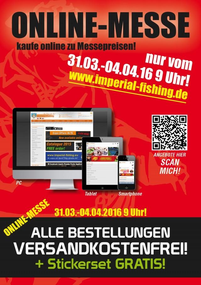 Onlinemesse ankündigung DE
