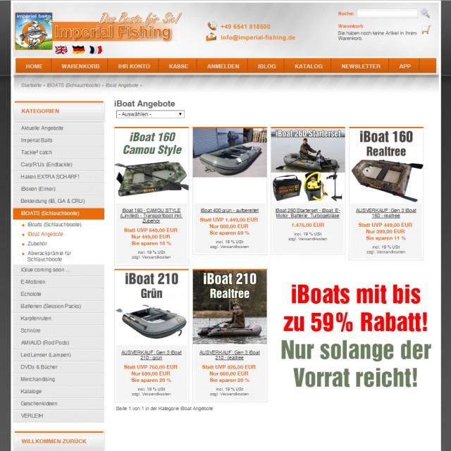 iBoat GEN3 Ausverkauf