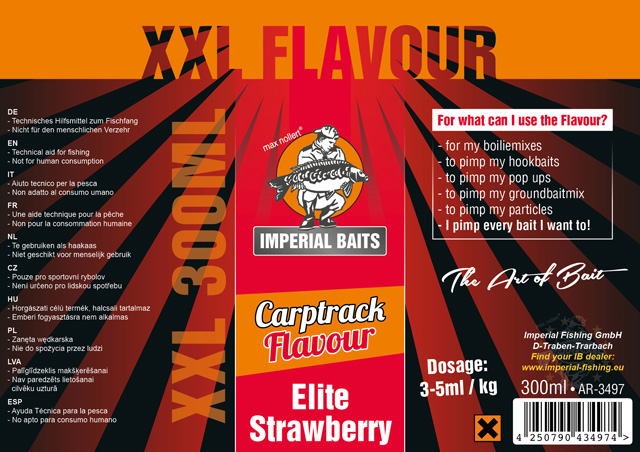 Flavour Elite Strawberry XXL 300 ml