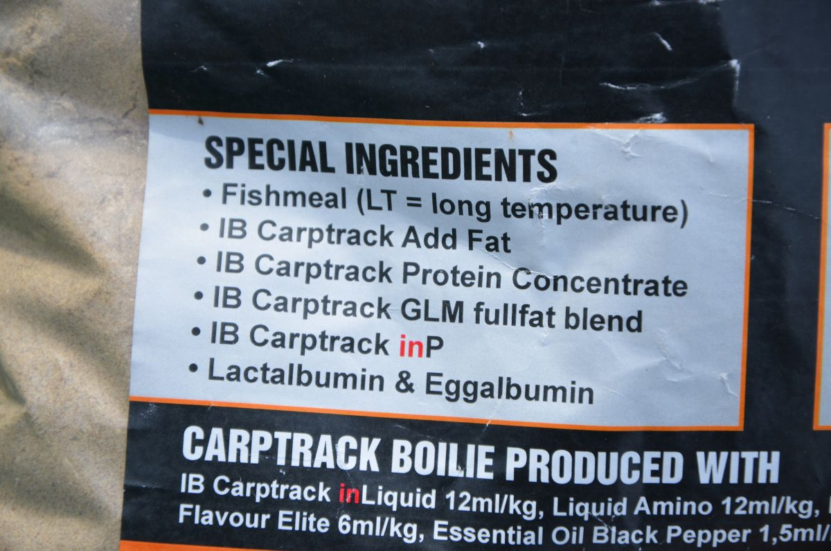 IB Carptrack Mix Elite Inhaltsstoffe