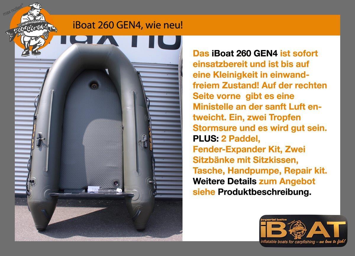 iBoat 260 GEN4