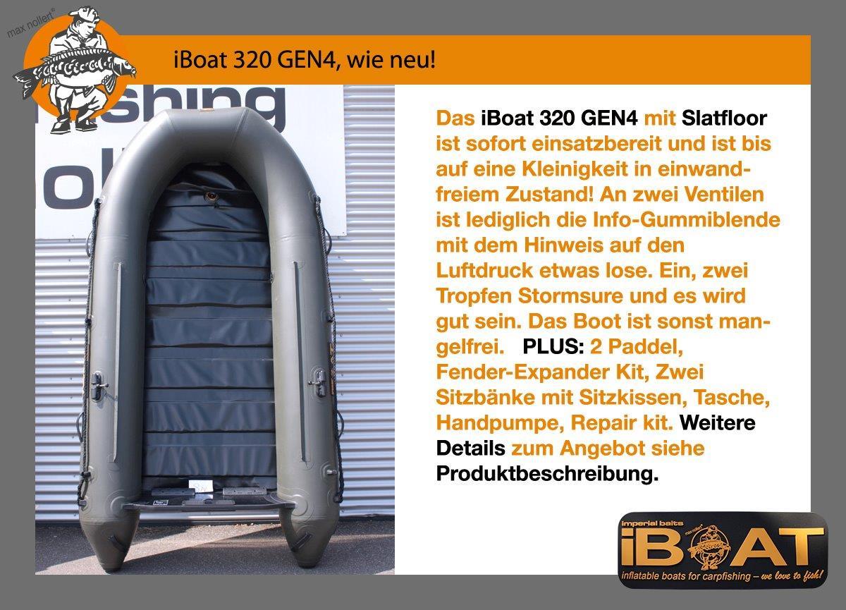 iBoat 320 GEN, wie neu!