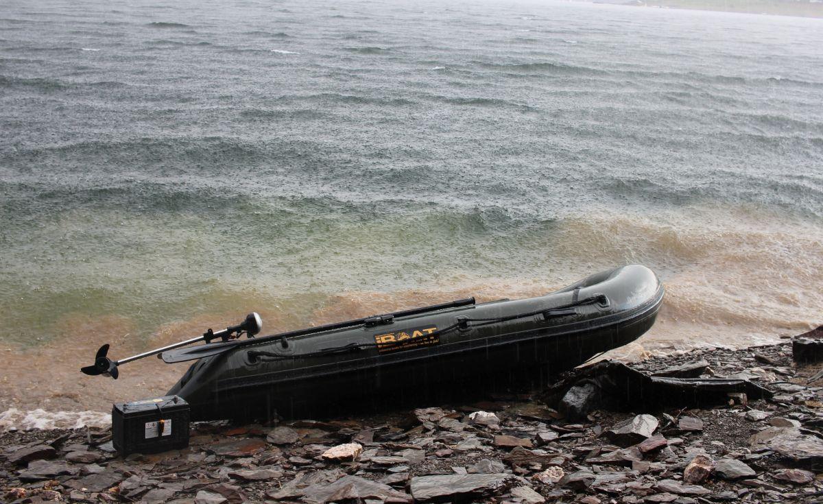 Mit dem iBoat von Imperial Fishing raus auf den See