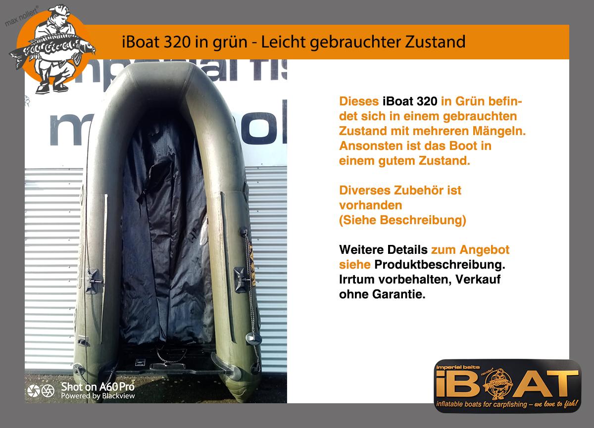 iBoat 320 (Gen2) grün im gebrauchten Zustand