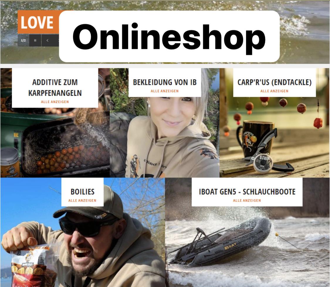 Karpfenangler Shop